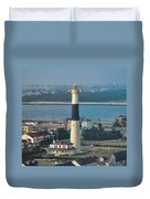 The Absecon Lighthouse In Atlantic City New Jersey Duvet Cover