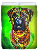 The Abstract Mastiff Duvet Cover