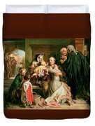 The Acquittal Duvet Cover by Abraham Solomon
