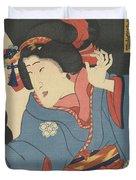 The Actor Bando Mitsugoro Duvet Cover