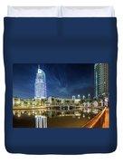 The Address Dubai Duvet Cover