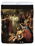 The Adoration Of The Golden Calf Duvet Cover