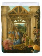 The Adoration Of The Magi Duvet Cover