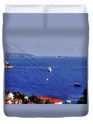 The Adriatic Sea Duvet Cover
