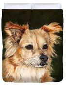 The Adventurous Dog Duvet Cover