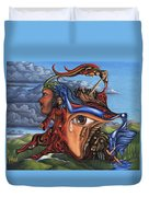 The Aftermath Duvet Cover by Karen Musick