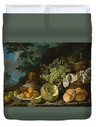 The Afternoon Meal Duvet Cover