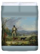 The Afternoon Shoot   Duvet Cover by Philip Reinagle