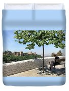 The Alhambra From Sacromonte Duvet Cover