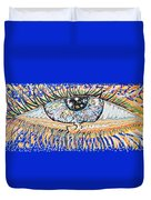 The All Seeing All Colourfull.... Duvet Cover