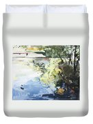 The Alster In High Summer Duvet Cover
