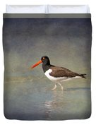The American Pied Oystercatcher By Darrell Hutto Duvet Cover