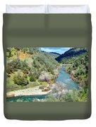 The American River Duvet Cover