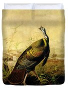 The American Wild Turkey Cock Duvet Cover
