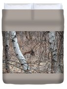 The American Woodcock In Take-off Flight Duvet Cover