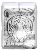 The Amur Tiger Duvet Cover