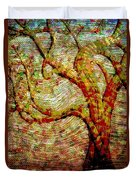 The Ancient Tree Of Wisdom Duvet Cover