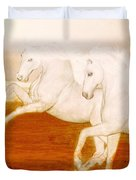 The Andalusians Duvet Cover