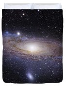 The Andromeda Galaxy Duvet Cover by Robert Gendler
