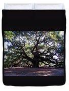 The Angel Oak In Charleston Sc Duvet Cover