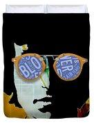 The Answer Is Blowin' In The Wind. Bob Dylan Duvet Cover