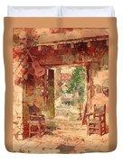 The Antiquarian's Shop Duvet Cover