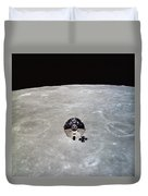 The Apollo 10 Command And Service Duvet Cover