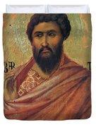 The Apostle Bartholomew 1311 Duvet Cover