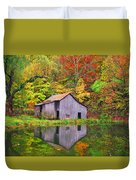 The Appalachian Reflection Duvet Cover