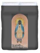 The Apparition Of St Kateri Tekakwitha 192 Duvet Cover