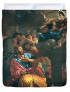 The Apparition Of The Virgin The St James The Great Duvet Cover