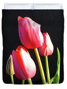 The Appearance Of Spring - Tulips Duvet Cover