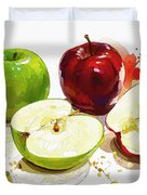The Apple Focus Duvet Cover