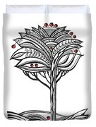 The Apple Tree Duvet Cover by Aniko Hencz