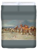 The Arab Caravan   Duvet Cover
