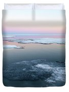 The Arctic Circle.. Duvet Cover