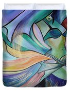 The Art Of Belly Dance Duvet Cover
