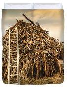 The Art Of Bonfires Duvet Cover
