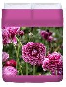 The Art Of Flowers Duvet Cover