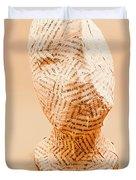 The Art Of Hidden Meanings Duvet Cover