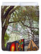 The Art Of Jackson Square Duvet Cover