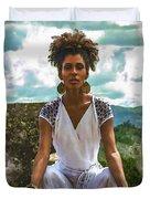 The Art Of Yoga Duvet Cover