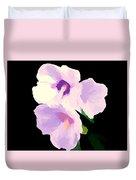 The Artful Hibiscus Duvet Cover