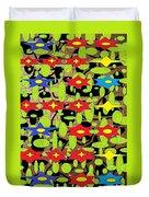 The Arts Of Textile Designs #42 Duvet Cover