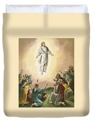 The Ascension Duvet Cover by English School