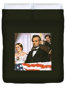 The Assassination Of Abraham Lincoln Duvet Cover by John Keay