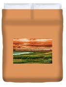 The Atlantic White Cedar Swamp Trail Duvet Cover
