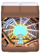 The Atrium At Casa Mila Duvet Cover