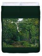 The Avenue Of Chestnut Trees Duvet Cover