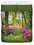 The Azalea Woodland Duvet Cover